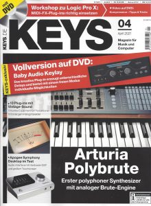 Titelbild der aktuellen Ausgabe 04/2021 des KEYS Magazins